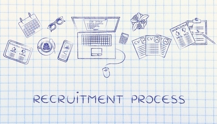 recruitment process drawing