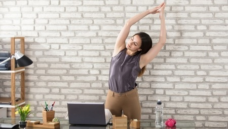 8 Simple Ways to Exercise at the Office