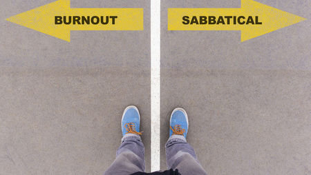 Burnout or sabbatical decision